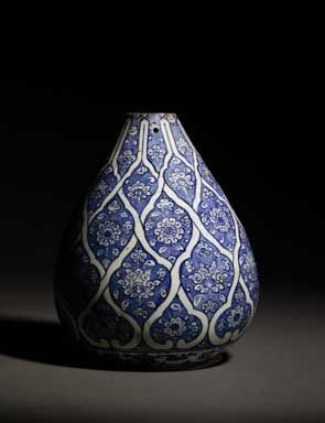 Intricate pottery decoration