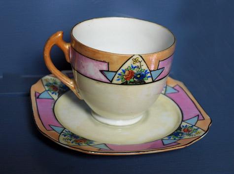 Japanese porcelain translucent cup