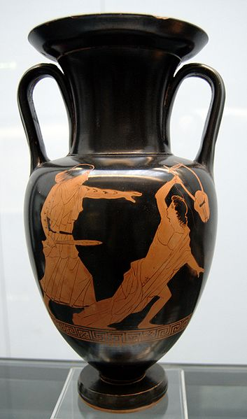 Orpheous Greek Pottery
