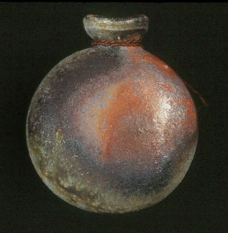 Reiko Kakiuchi-Cohen spherical ceramic bottle