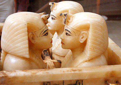 Canopic Shrine from tomb of King Tut