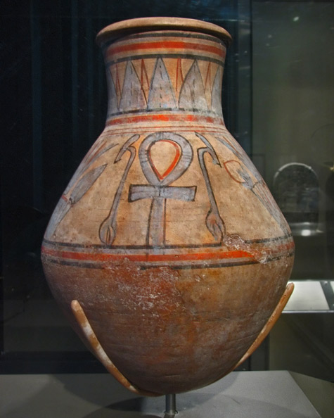 Egyptian Jar-with-Was-scepters-and-Ankhs