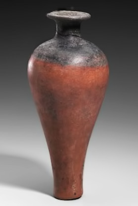 Ritual-vessel-(hes-jar)-Egyptian,-Early-Dynastic-Period-to-Old-Kingdom,-Dynasty-1–,-2960–2465-B.C