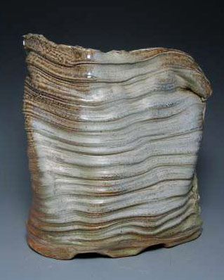 K.Winograde Salt Glazed Vase