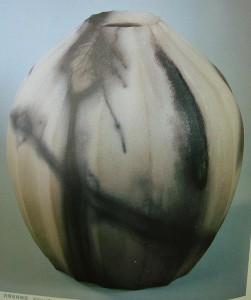 urakami zenji ceramic raku vase