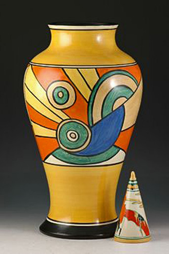 Clarice-Cliff----18-inch-tall-mei-ping-vase