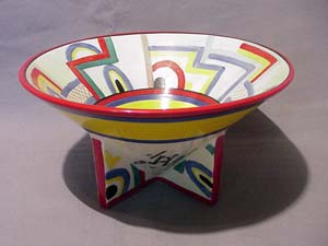 Clarice Cliff conical bowl