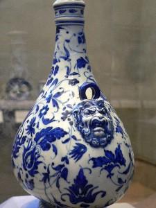 Majolica Renaissance Ceramic Vase