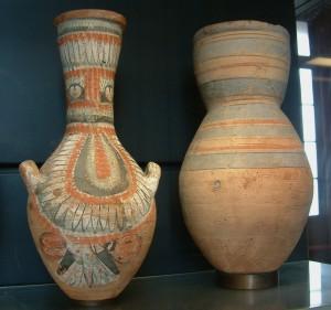 Lourve Egyptian Pots