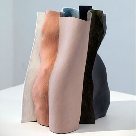 KEN-EASTMAN--contemporary folded clay sculpture
