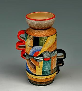 Slender-vase-with-handles-Series-F-1937 Nicolaj-Diulgheroff-for-Tullio-Mazzotti--of-Albisola