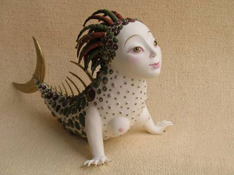 Porcelain Mermaid