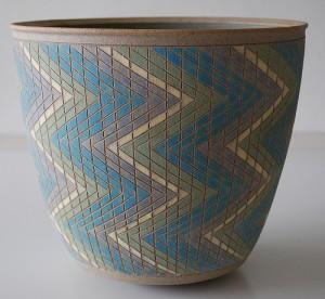 Per Rehfeldt Stoneware Pot