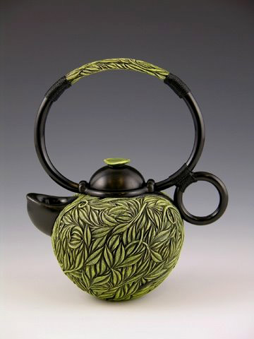 Green Tea Teapot by Jaques Vesery, 2008