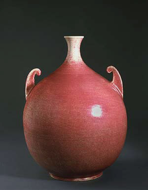 John Kunsman for Fulper Pottery Company Bottle Vase
