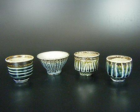 Mashiko Guinomi-Sake Cups