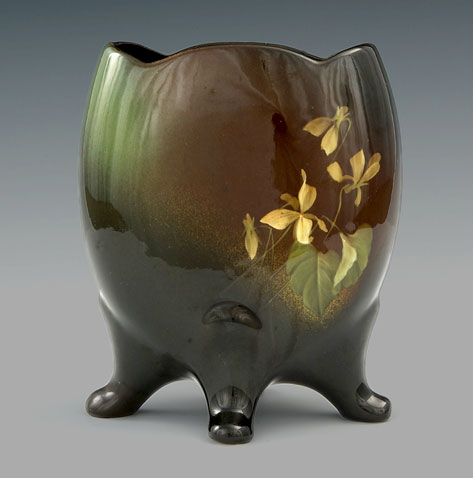 Four footed Chinese vase