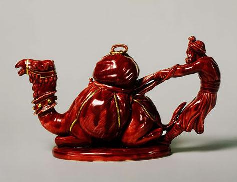 Camel teapot Moore Bros.
