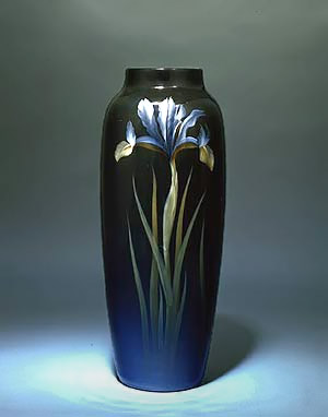 Carl Schmidt for the Rookwood Pottery Iris Vase
