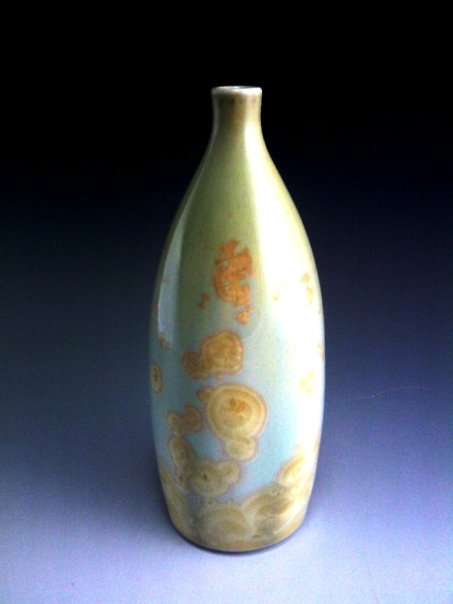 Josh Pehrson crystalline glaze vase