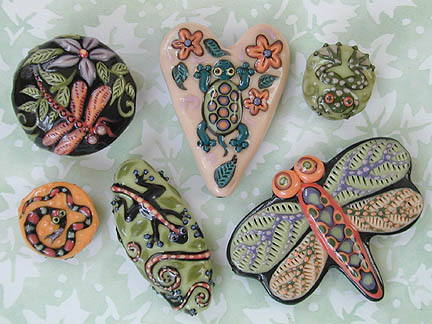JoanMiller ceramic beads