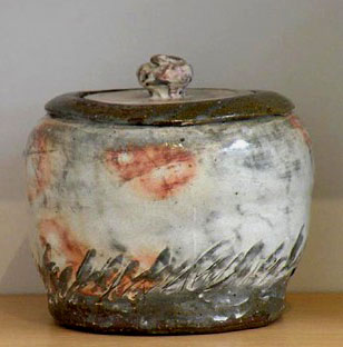 Lee Kang Hyo ceramic lidded box