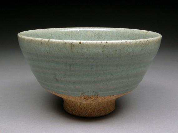 Satin Celadon Glazed  CHAWAN