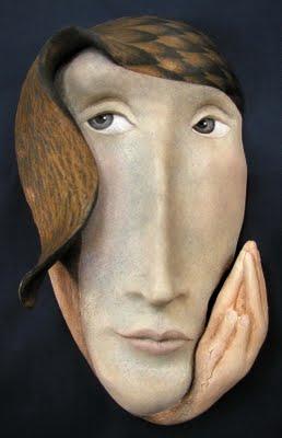 Peggy Bjerkman Ceramic Mask
