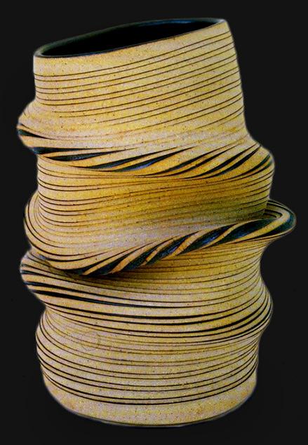 Gustavo Perez asymmetrical vase