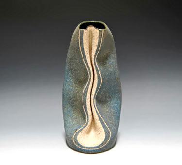 Gustavo Perez folded vase - 2005