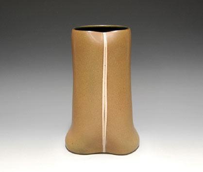 Gustavo Perez stoneware vase