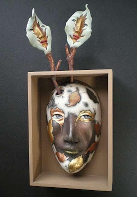 Peggy-Bjerkan ceramic mask