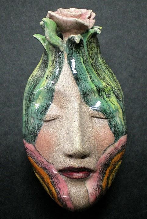 the Dreamaer ceramic mask