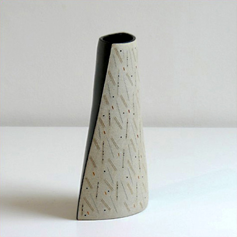 Gustavo Perez contemporary ceramic sculptural vessel