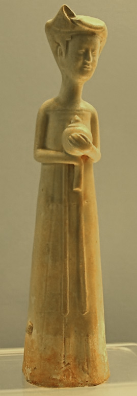 White Glazed Figurine