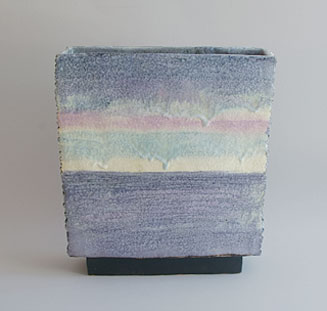 Jeff Mincham pottery planter