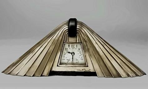 Albert CHEURET, Mantle Clock art deco style