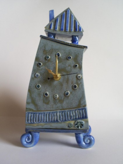 Sarah McCormack.whimsical mantle clock