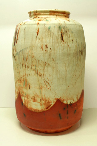 Jeff Mincham Ceramic Vase