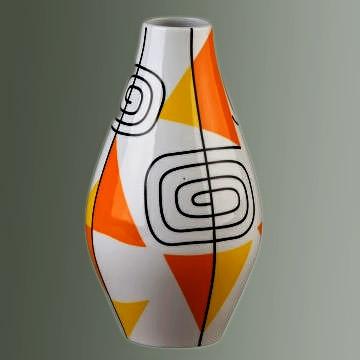 Mid Century Zsolnay vase