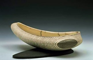 footed vessel by David Roberts
