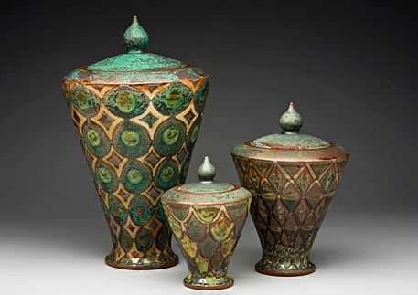 Peter Karner Pottery Vessels