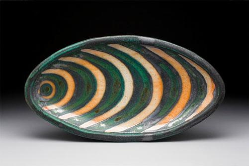 Peter Karner Stoneware Platter