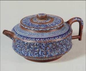 Emporer Qianlong purple teapot