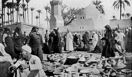 Cario pottery market