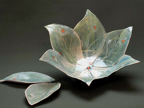 Keiko Harada Leaf Bowl