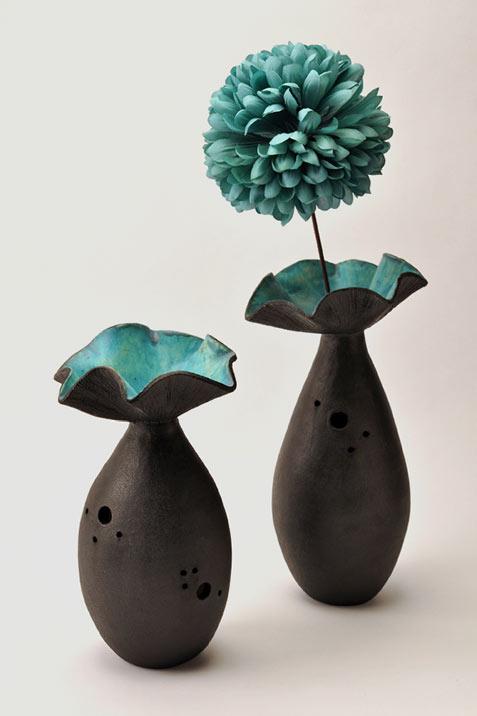 Анна Haworth керамические вазы