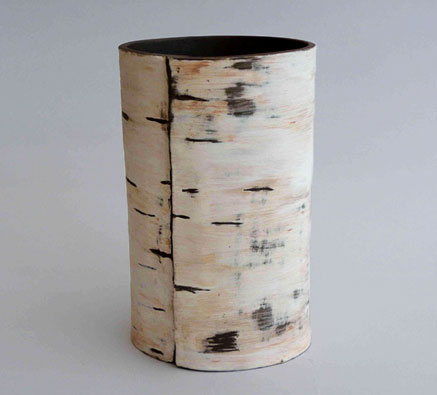 Caroline Lee. ceramic vase