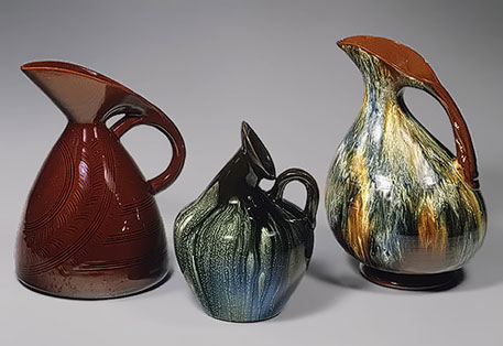 3 pitchers by Christopher Dresser