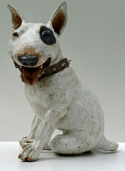 Ceramic Dog - Joanne Cooke